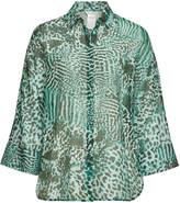 6cc0fa3a Max Mara Prati Printed Blouse in Cotton and Silk $539 at STYLEBOP.com